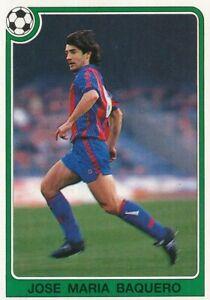 146 JOSE MARIA BAQUERO ⚽ ESPANA FC.BARCELONA STICKER PANINI FUTBOL 92-93