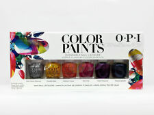 OPI Nail Lacquer - COLOR PAINTS Collection 2015 - Mini pack 6 Colors 3.75ml