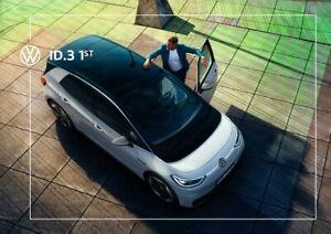2021 Mj Volkswagen ID.3 1st 08 / 2020 Broschüre brochure