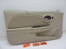 SATURN ION QUAD COUPE LEFT FRONT DOOR PANEL POWER WINDOW SPEAKER COVER ARM REST