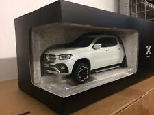 Mercedes-Benz X-Class Pickup 1:18 Scale Model White (BNIB)