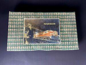 Märklin R890/25/3 Eisenbahn Komplett Set im original Karton und zstl. Schienen
