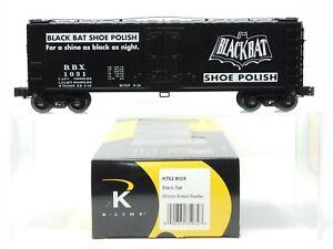 O Gauge 3-Rail K-Line K762-8035 BBX Black Bat 40' Wood Reefer #1031