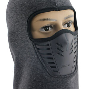 Outdoor Windproof Fleece Neck Warm Balaclava Full Face Cover for Cold Weather
