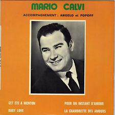 MARIO CALVI BABY LOVE FRENCH ORIG EP DEDICACE