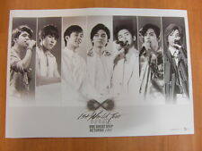 INFINITE - One Great Step Returns Live [OFFICIAL] POSTER *NEW* K-POP