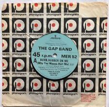"The Gap Band - Burn Rubber on Me - Mercury Records Company Sleeve 7"" Single EX"