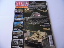 STEEL MASTERS ISSUE 60  - MILITARY HISTORY WARGAMING MAGAZINE