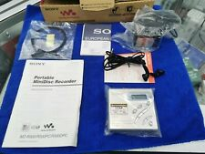 SONY MZ-R500 Mini disc player recorder * BOXED COMPLETE * superb example