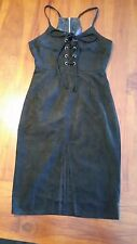 Lioness Black lace up racer back dress szXS BNWT free post E17