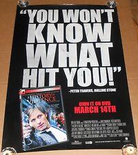 A History of Violence Movie Promo Poster 2006 Original 27x40 Viggo Mortensen RAR