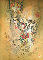 """""""Circus IV"""" by Hoi Lebadang Signed Ltd Edition #252/275 Lithograph 29 1/2""""x20"""""""