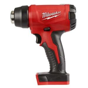 Milwaukee M18 Cordless Compact Heat Gun 18-Volt Lithium-Ion Bare Power Tool-Only