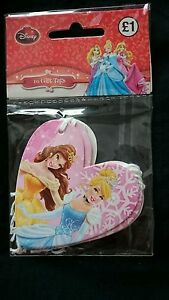 20 Disney Princess gift tags NEW Belle Cinderella
