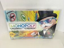 Monopoly for Millennials Millenials Board Game Ages 8+ HTF Hot Christmas Toy NEW