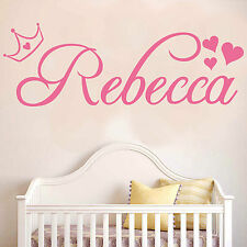 Hearts Princess/Fairies Wall Decals & Stickers for Children