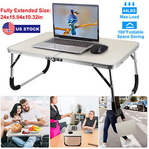 Portable Laptop Notebook Table Foldable Stand Sofa Bed Lap Tray Computer Desk