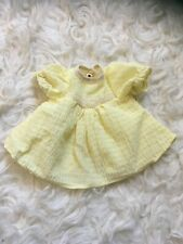 Vintage Yellow Doll Dress For 1:4 Msd Bjd As Is