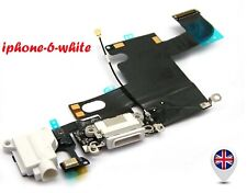 For iPhone 6 4.7'' Charging Port Charger Flex Headphone Jack Replacement -White