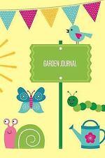 Gardening Journals: Garden Journal : Garden Gnome Cartoon Gardening Journal,...