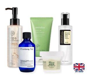 5 Step Korean Skincare Routine Set Dry Skin: Hydrate Smooth Glowy Healthy [UK]
