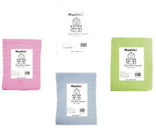 Superior Muslinz Muslin Squares/Cloths Supersoft Good Quality - 1 2 or 3 packs