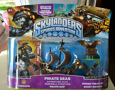 Skylanders Spyro's Adventure PIRATE SEAS ADVENTURE PACK ~ NEW in Box
