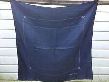 LLOYD'S OF LONDON navy blue SCARF 31 x 31, Silk Scarf