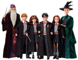 Harry Potter Hermione Grainger, Ron Weasley, Dumbledore,  McGonagall Figure