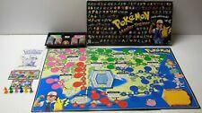 Vtg POKEMON MASTER TRAINER Board Game 1999 Milton Bradley COMPLETE Nintendo B