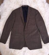 New JCREW Men's Crosby Blazer In Herringbone ITALIAN Wool $328 C9258 46L SOLDOUT