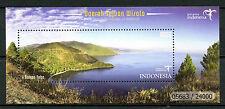 Indonesia 2017 MNH Tourism Destinations Danau Toba 1v M/S Landscapes Stamps