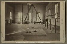 New listing Vintage Yale University Gym Weightlifting Gymnastics Cabinet Card Photograph