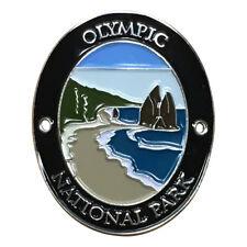 Olympic National Park Walking Hiking Stick Medallion - Washington