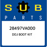 28497VA000 Subaru Doj boot kit 28497VA000, New Genuine OEM Part