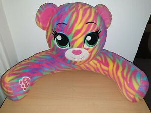Build A Bear Workshop Backrest Cushion Pillow Rainbow Striped