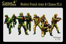 Caesar Miniatures - Modern French Army & Chinese PLA - 1:72