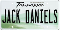 JACK DANIELS TENNESSEE LICENCE PLATE BEER FRIDGE MAGNET