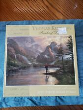 Thomas Kinkade Almost Heaven - 1000 Piece Puzzle pre owned