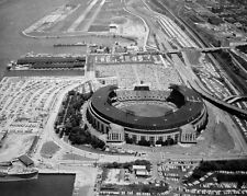 Cleveland Indians MUNICIPAL STADIUM Glossy 8x10 Photo Browns Stadium Print