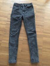 Cheap Monday Jeans 28/30 Second Skin Skinny Black Strobe Neu Ohne Etikett