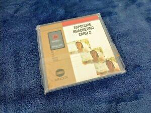 Minolta Bracket 2 Exposure Bracketing Card 2 for 9xi 7xi 5xi 8000i 7000i