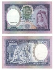 More details for 1961 portugal - 1000 escudos banknote - p166.
