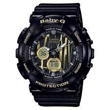 Casio Baby-G Women's BA120SP-1A Scratch Pattern Dial Black Resin 43.5mm Watch