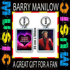 I AMORE Barry manilow- keyring-key ring-key CHAIN 35x5mm CD #3