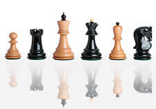 "USCF Sales The Zagreb '59 Series Chess Set - Pieces Only - 2.875"" King - Black a"