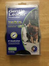 PetSafe Gentle Leader Head Collar with Training DVD, MEDIUM 25-60 LBS., BLACK