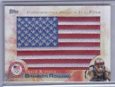 New listing Brandon Roulhac 2012 Topps U.S. Olympic Team & Hopefuls Usa Flag Patch #Flp-Br