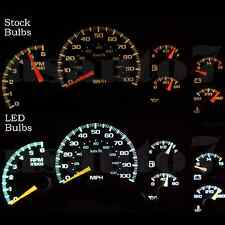 Dash Instrument Cluster Gauge White LED LIGHTS KIT Fits 02 Cadillac Escalade EXT