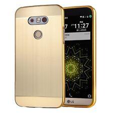 LG G5 Mobile Phone Aluminum Metal Bumper Frame Case+Hard Back Protective Cover